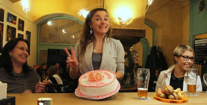 Oslava narozenin Markéty Švecové (24. 10. 2016)