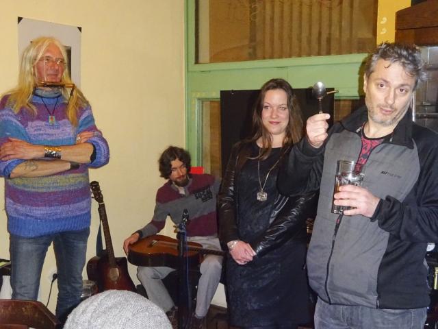 Vernisáž výstavy Kristýny Dražanové (2. 2. 2017)